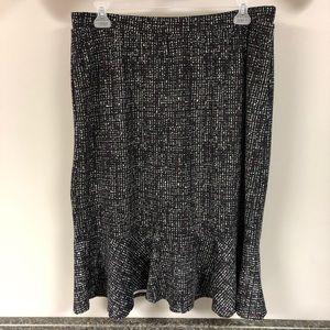Cato midi flounce skirt 18/20w